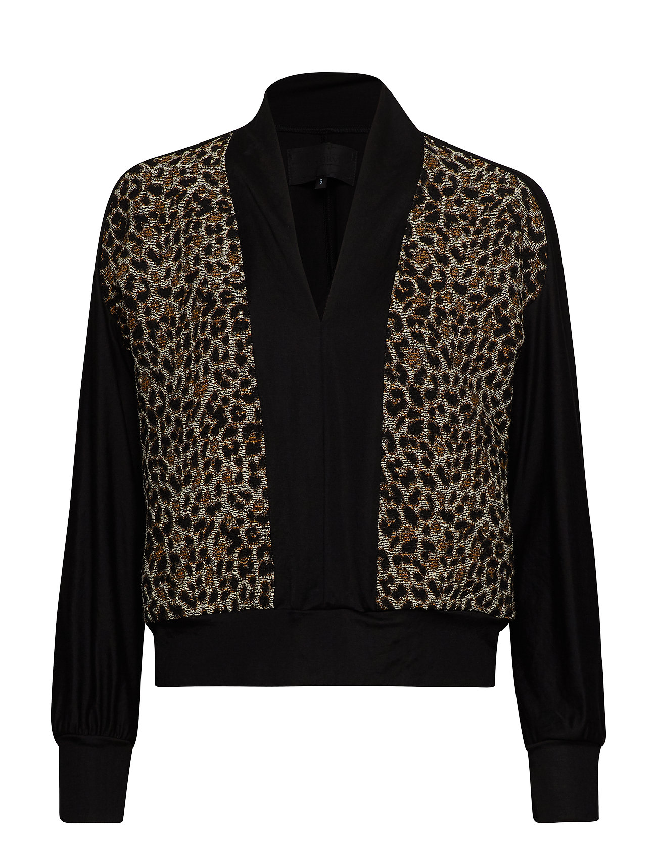 Diana Orving Y-sweater - LEO JACQUARD