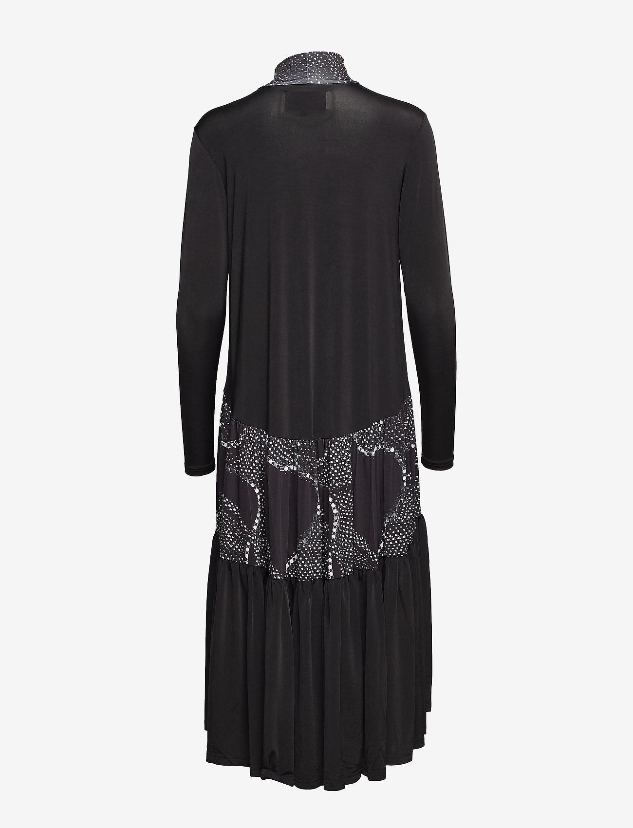 Diana Orving - Long ruffle dress - midi dresses - print