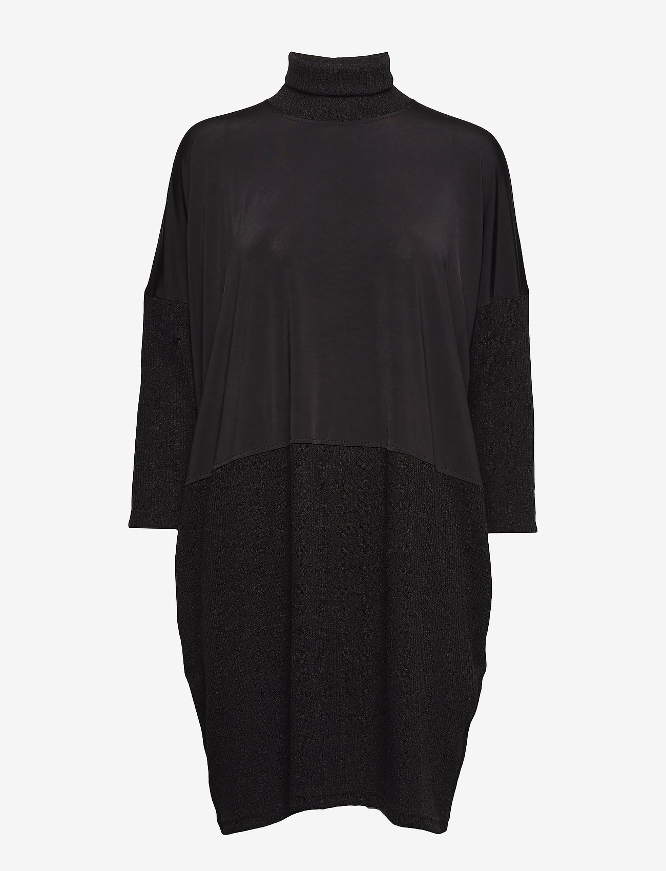 Diana Orving - Polo dress - knitted dresses - black