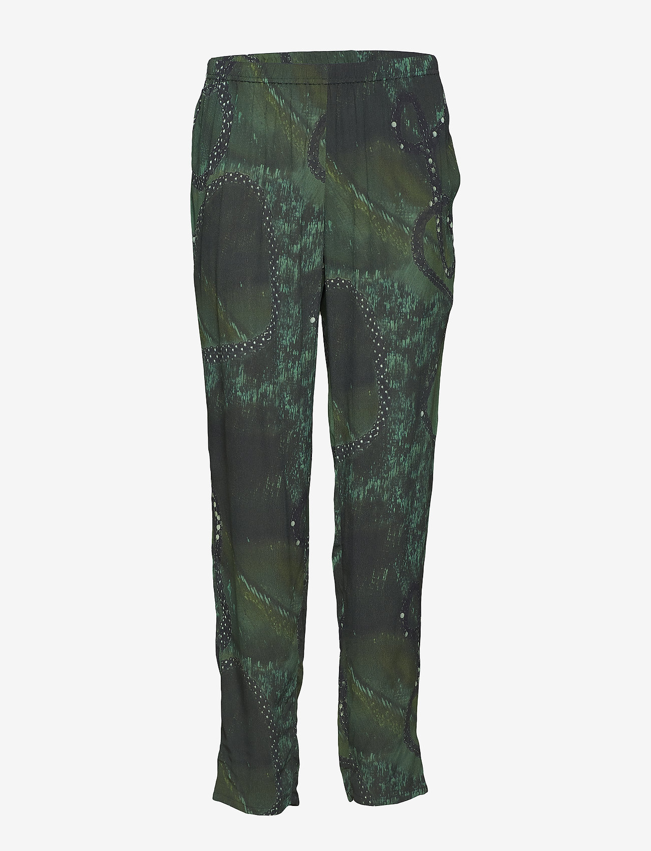 Diana Orving - Trousers - straight leg trousers - green