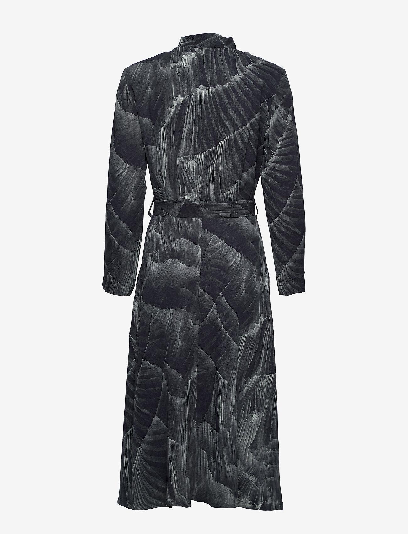 Diana Orving - Robe dress - robes chemises - print pleat (grey) - 1