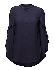 Tulip blouse - NAVY