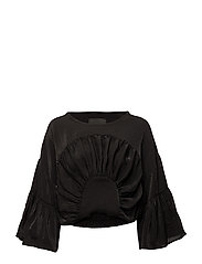 Arch Blouse - BLACK