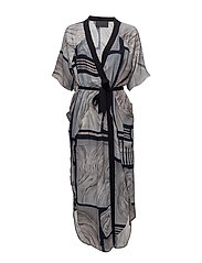 Layered Caftan - GREY