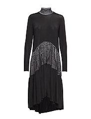 Long ruffle dress - PRINT