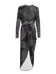 Twisted Long dress - PRINT