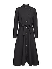 Robe coat - BLACK