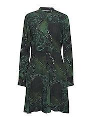 Short dress - GREEN