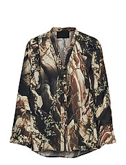 Buttoned Blouse - FLOWERS