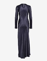 Diana Orving - Long Bias dress - maxi dresses - blue - 1