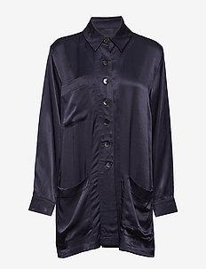 Shirt jacket - BLUE