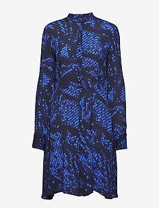 Short dress - BLUE