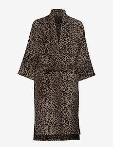 Cardigan - kimona - leo jacquard