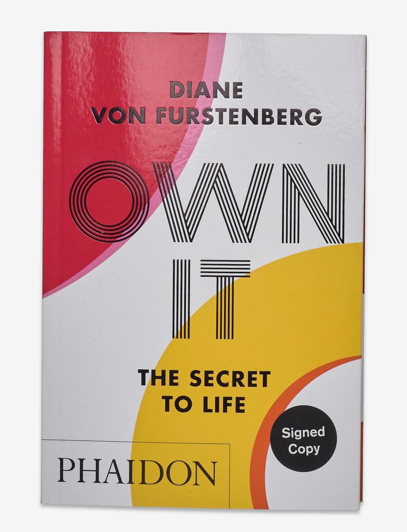 Diane Von Furstenberg Home - DVF OWN IT BOOK - boeken - signed - 0