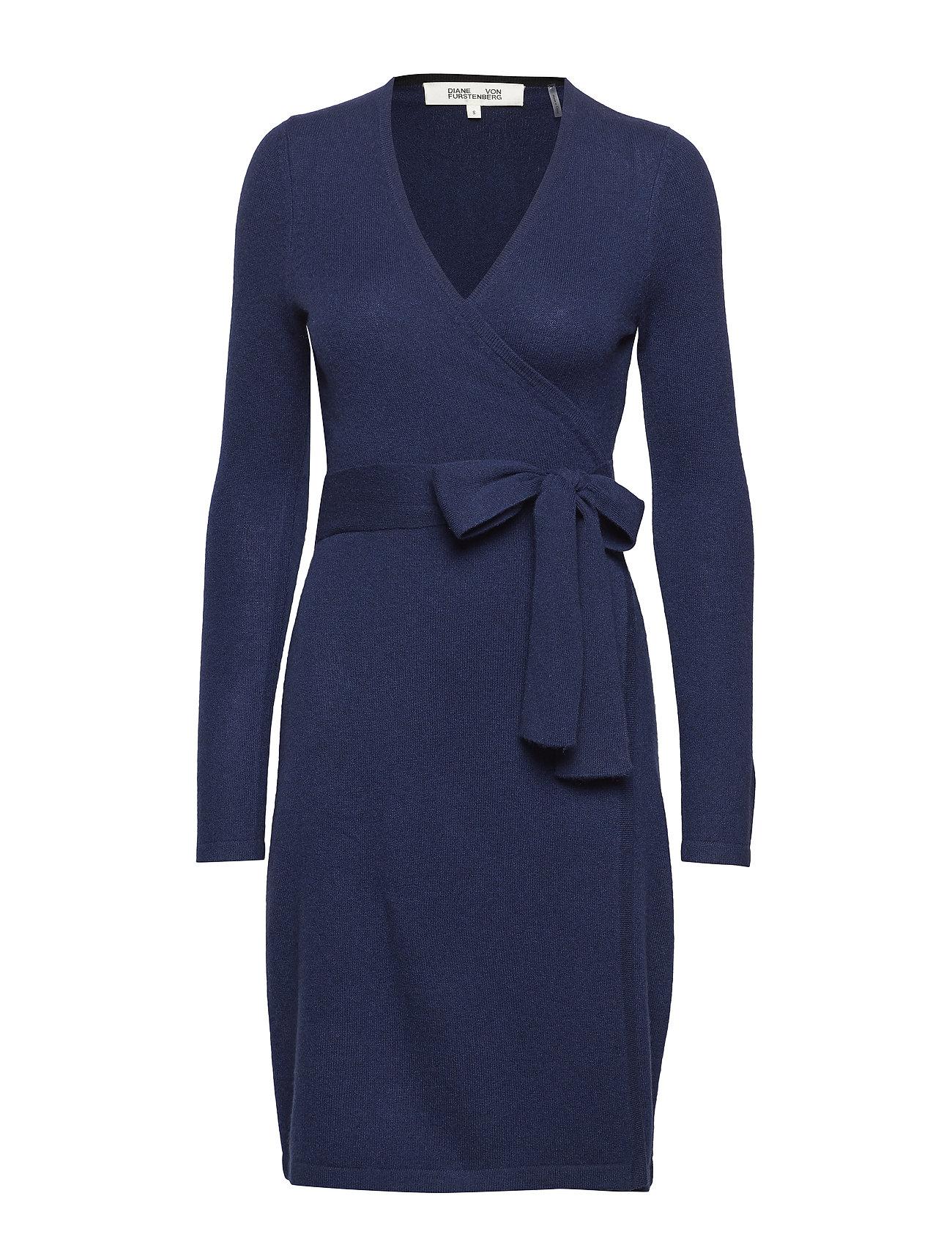 New Linda Knit Wrap Dress - Diane von Furstenberg