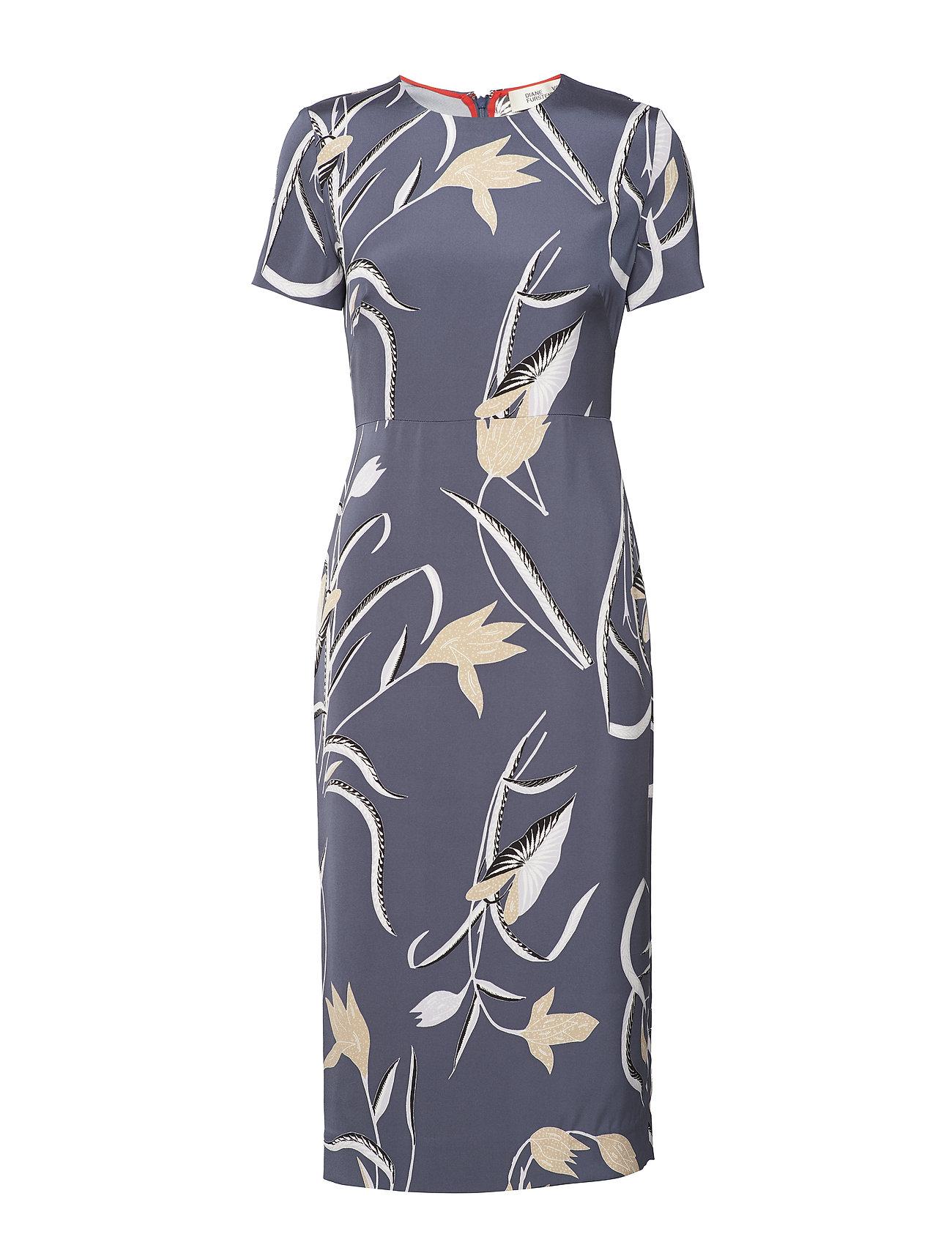 S/S Crewneck Dress - Diane von Furstenberg