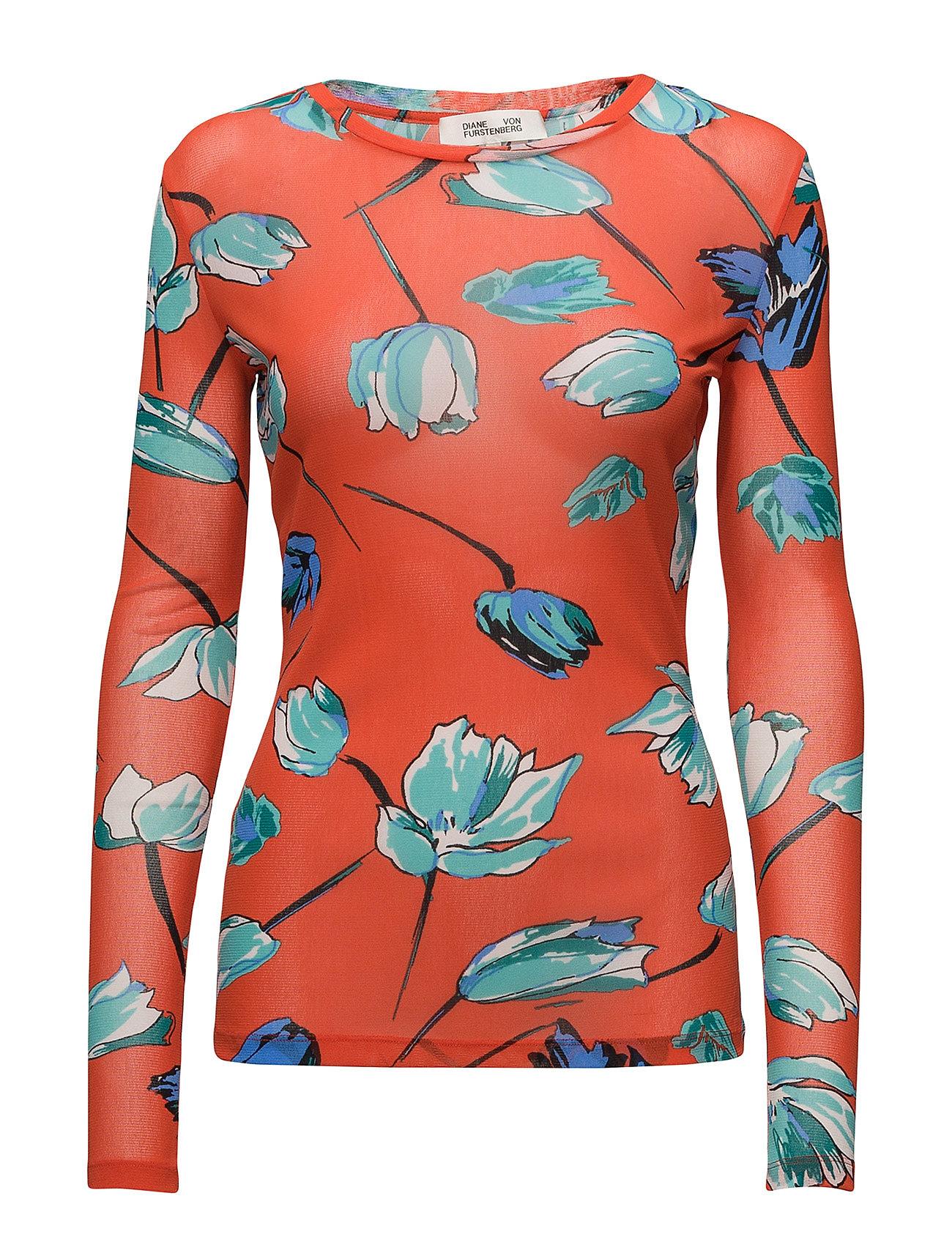 L/S Fitted T Shirt - Diane von Furstenberg