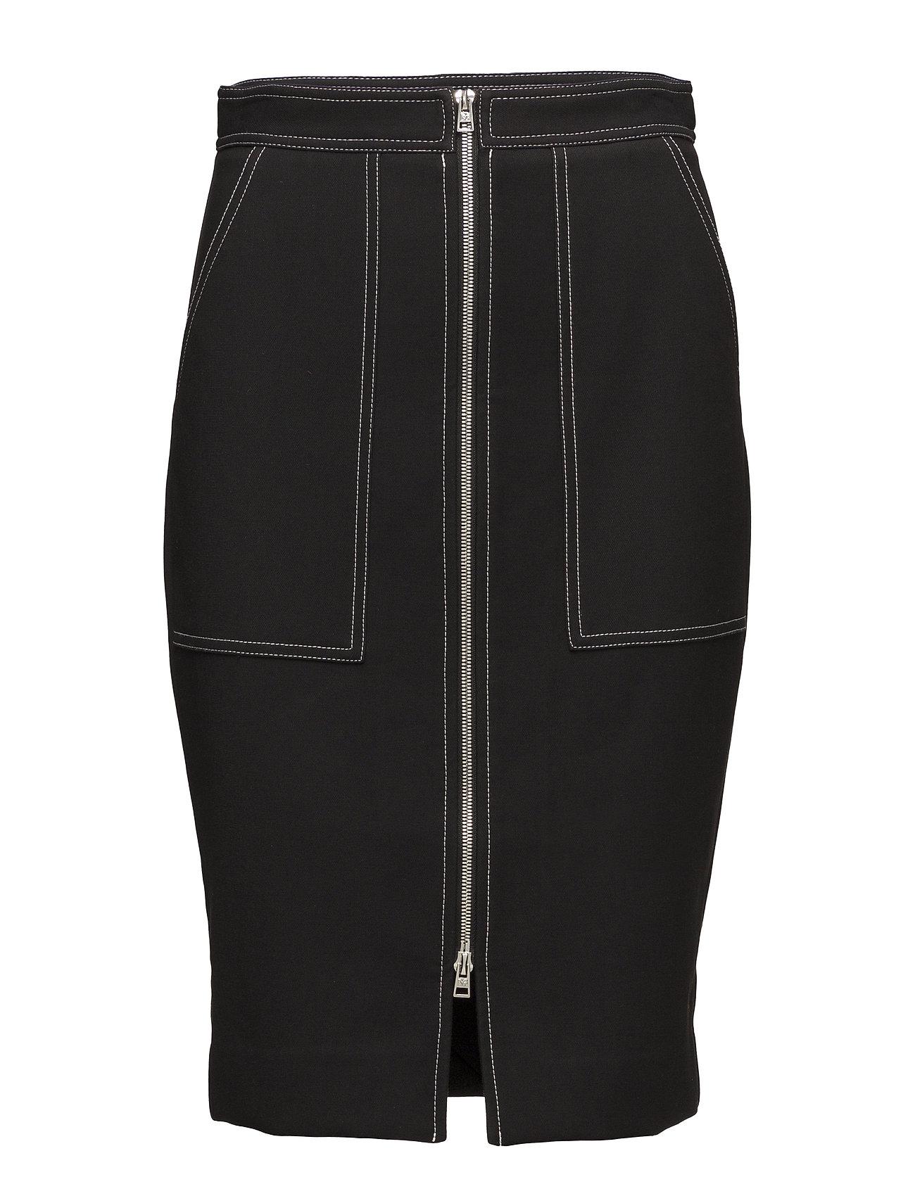 Patch Pocket Zip Skirt - Diane von Furstenberg