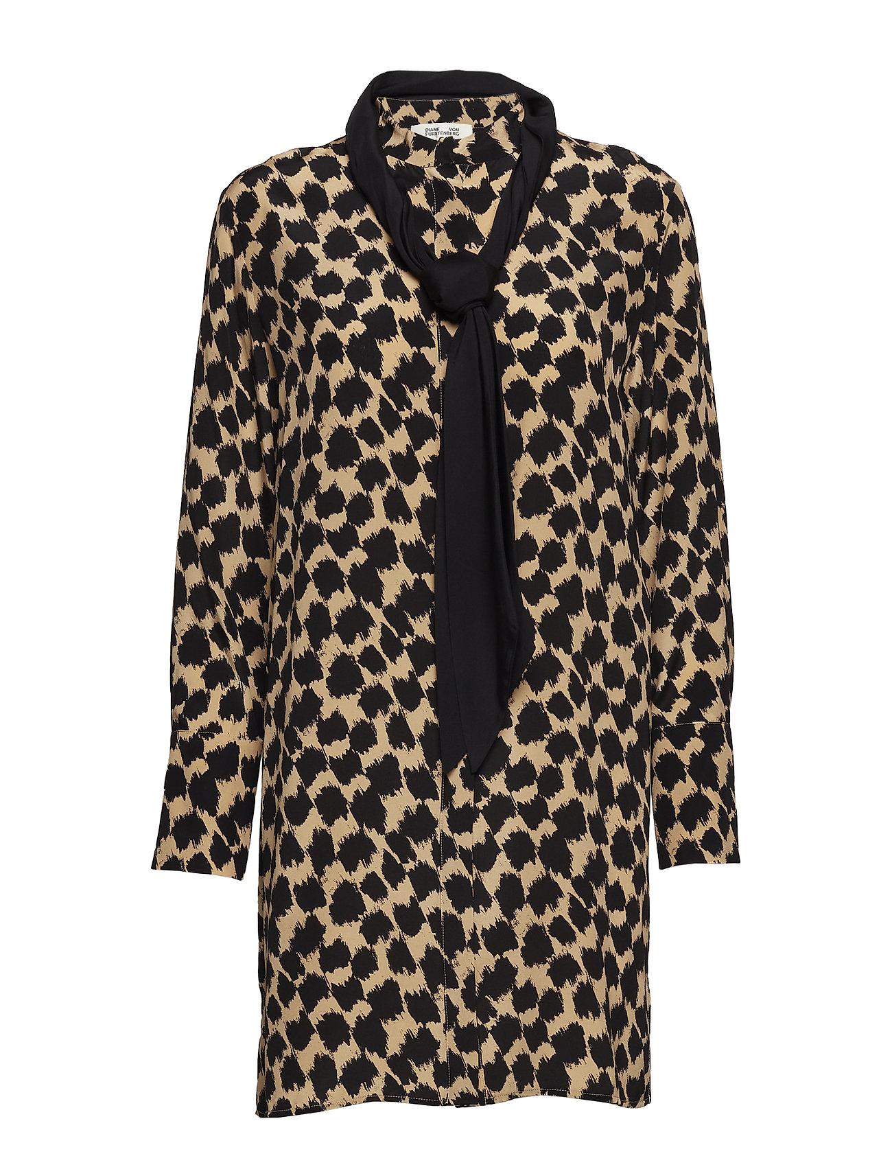 L/S Shirt Dress - Diane von Furstenberg