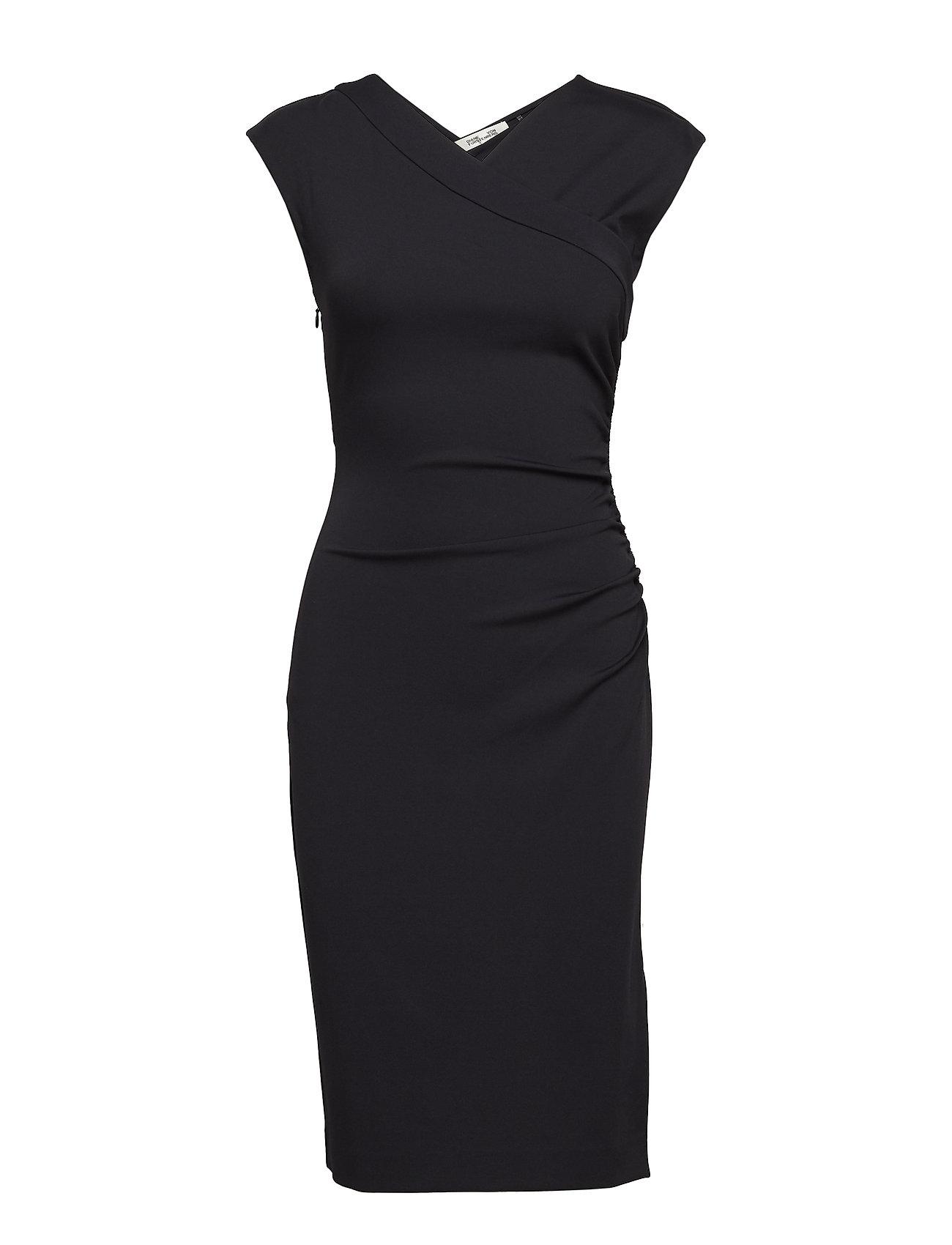 Cap Slv Ruched Jersey Dress - Diane von Furstenberg