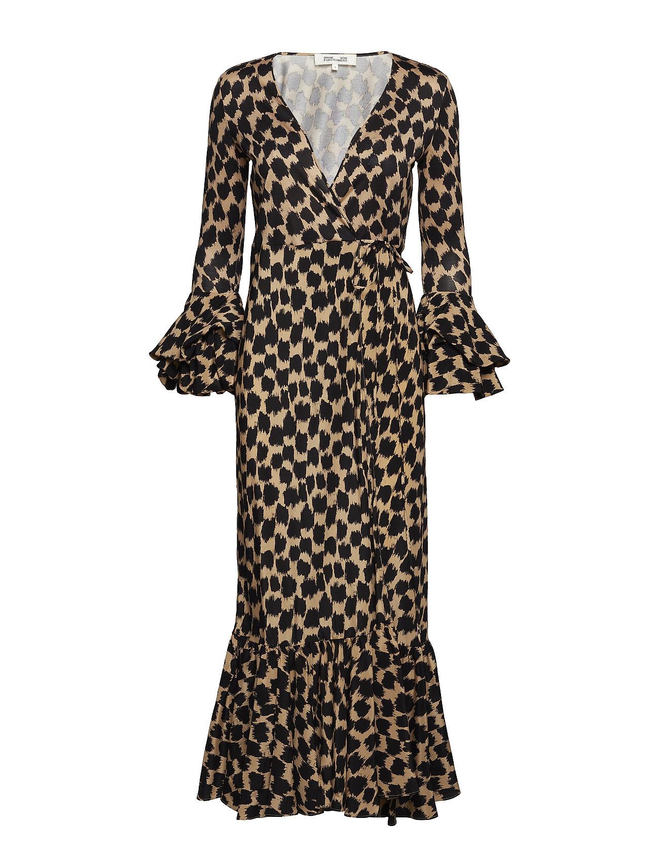 Puff Sleeve Wrap Dress - Diane von Furstenberg