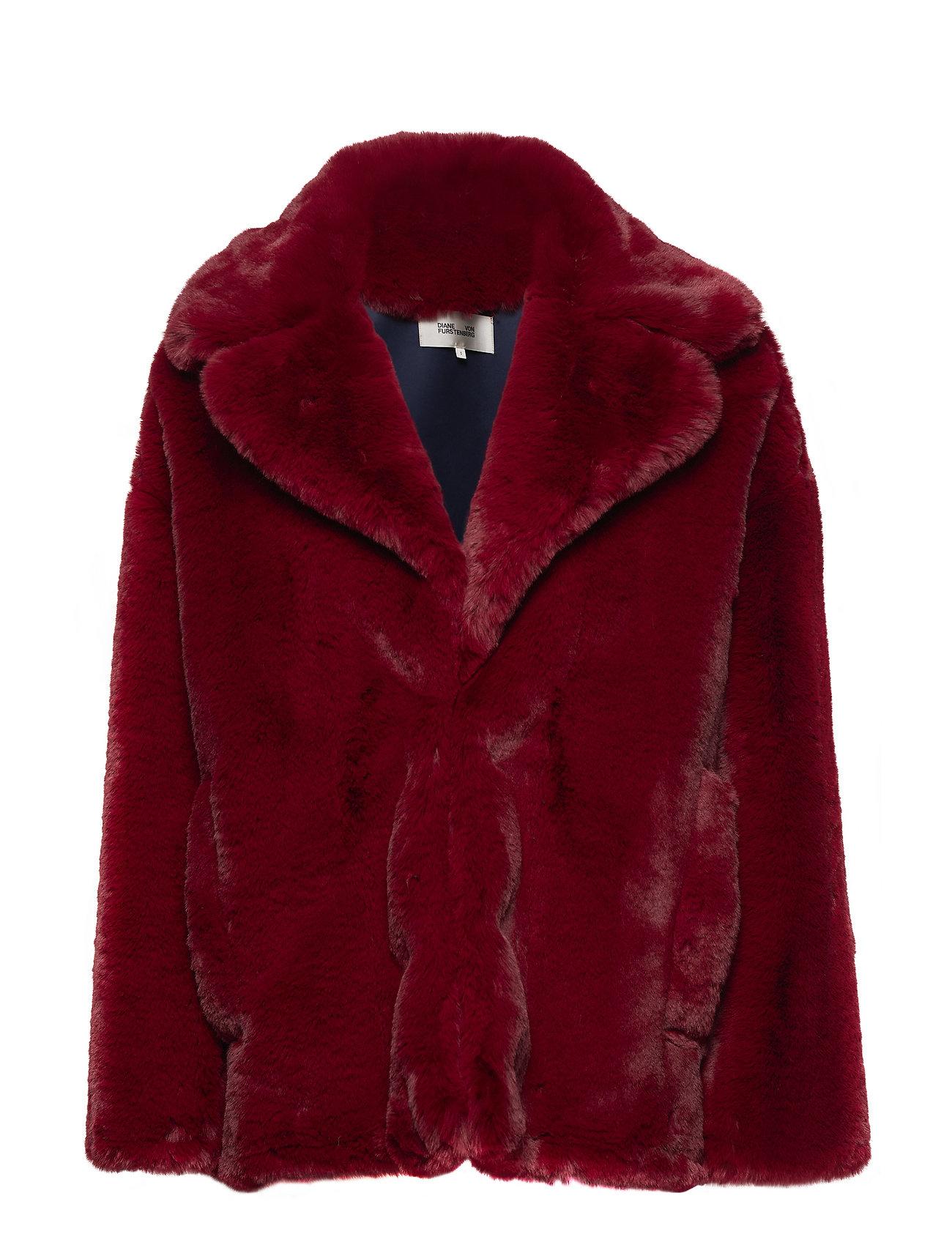 L/S Collared Jacket - Diane von Furstenberg