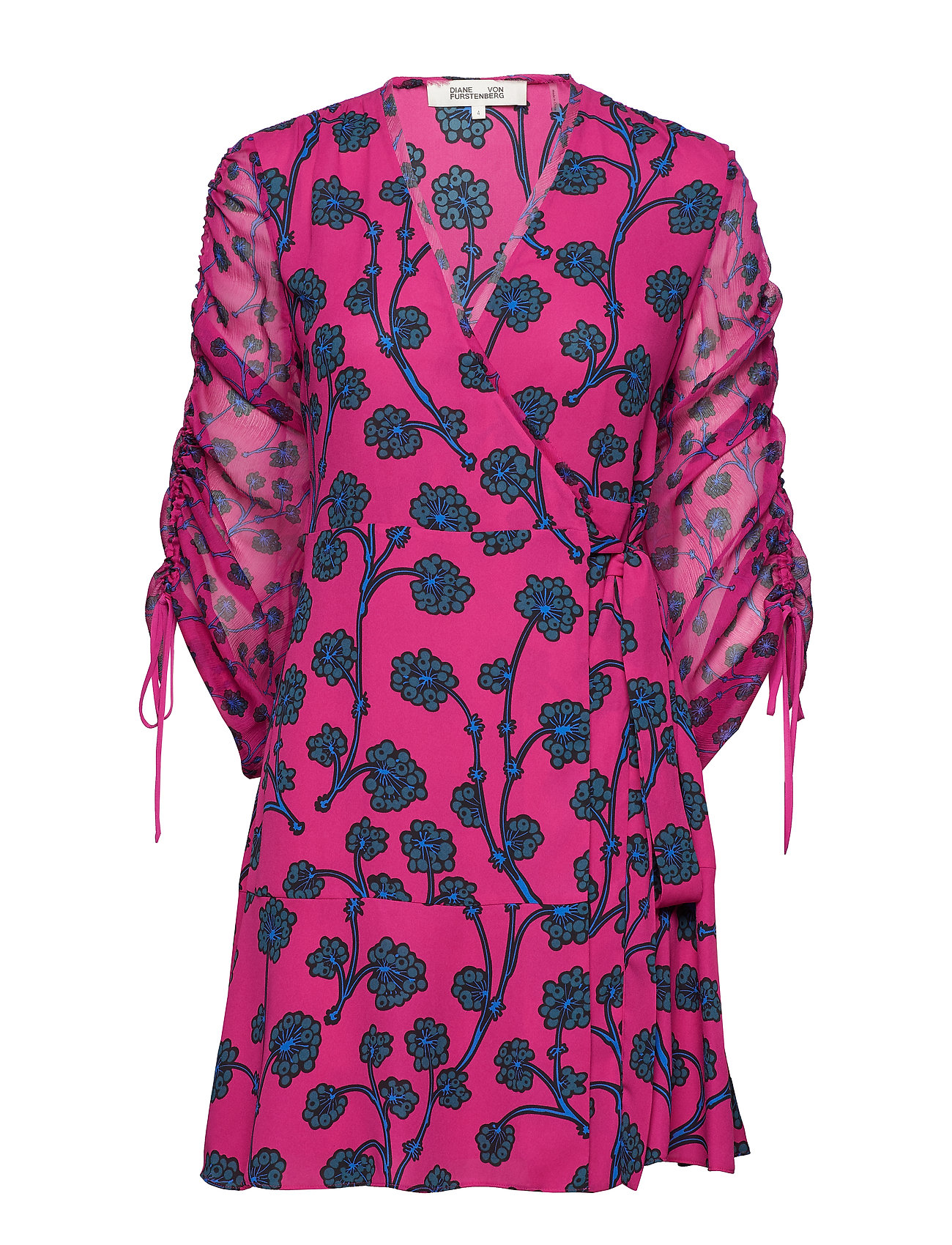 Diane von Furstenberg DVF TAMRA - DRAGON BERRY SHOCKING PINK