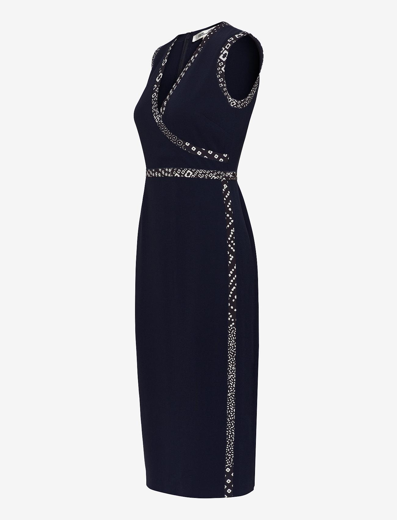 Diane von Furstenberg ANISSA - Sukienki NAVY/TAPESTRY NAVY - Kobiety Odzież.