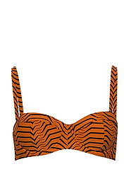 X ONIA MILA TOP - GEO TIGER TIGRESS
