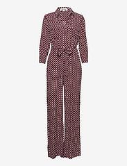 Diane von Furstenberg - SANDY JUMPSUIT - kleding - 3d chain tiny white - 0