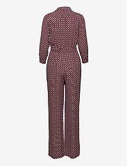 Diane von Furstenberg - SANDY JUMPSUIT - kleding - 3d chain tiny white - 1