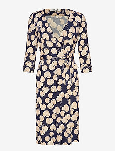 NEW JULIAN TWO - KIMONO LEAF SMALL NEW NAVY