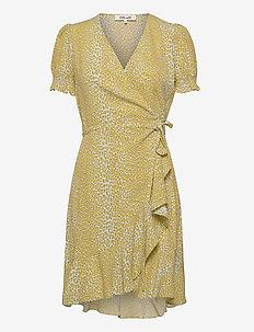 DVF EMILIA - midi kjoler - serval light daydream