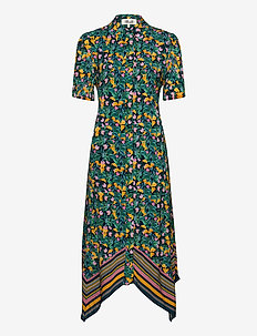KENDYL - shirt dresses - jardin eclipse multi