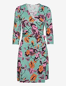 NEW JULIAN TWO - robes d'été - tulle flower medium green