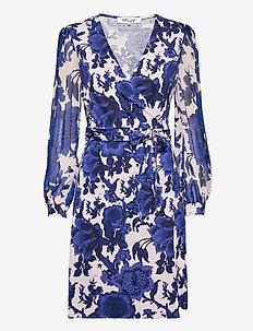 DVF GALA - hverdagskjoler - willow patterns md pink blue