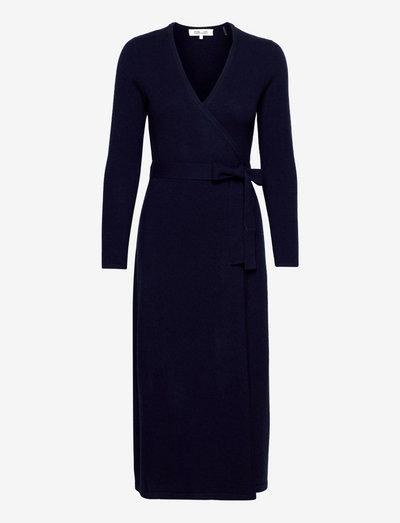 DVF ASTRID DRESS - cocktail dresses - new navy