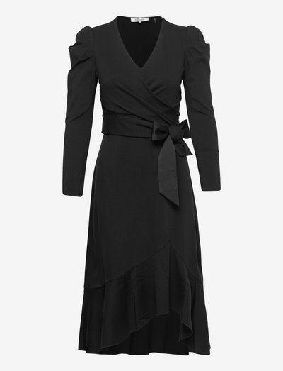 DVF NEW SIENNA DRESS - cocktail dresses - black