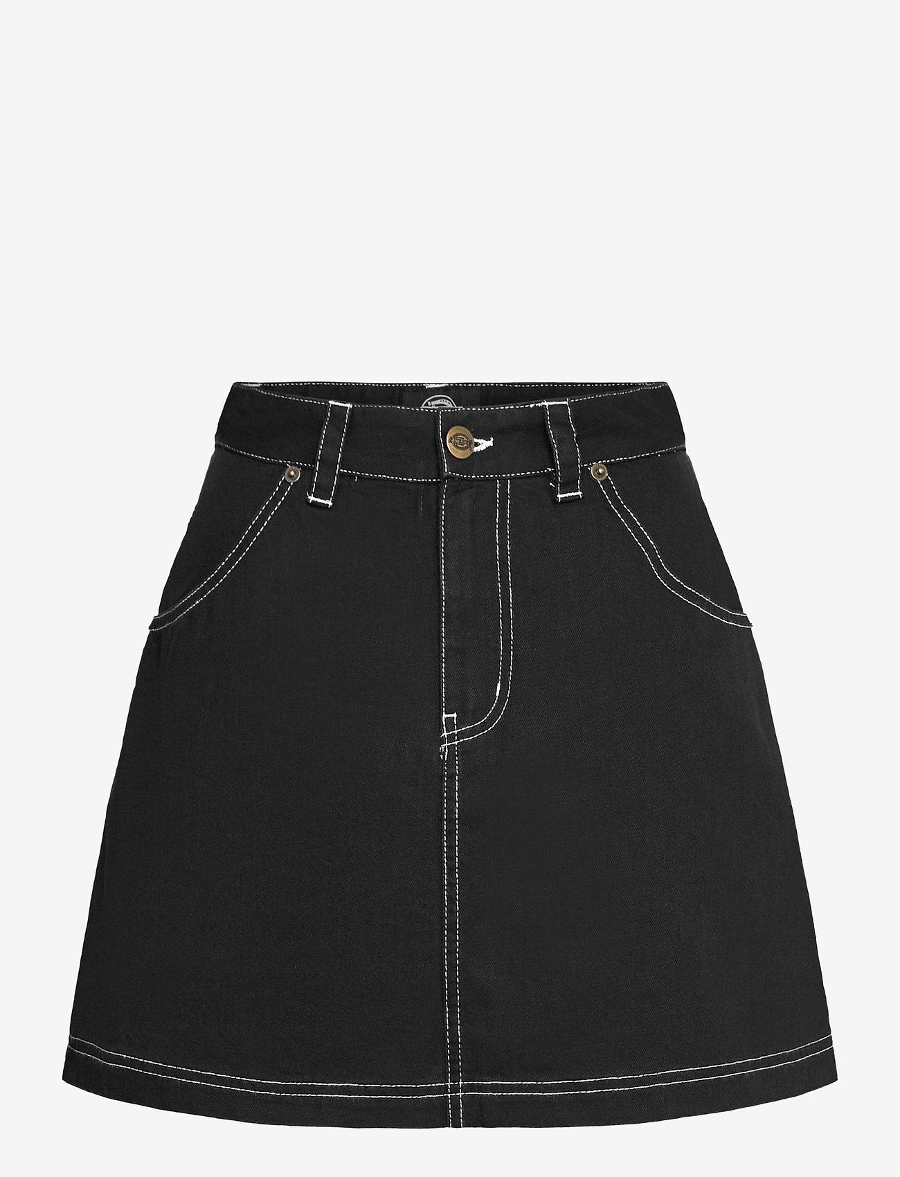 Dickies - SHONGALOO - jeanskjolar - black - 0