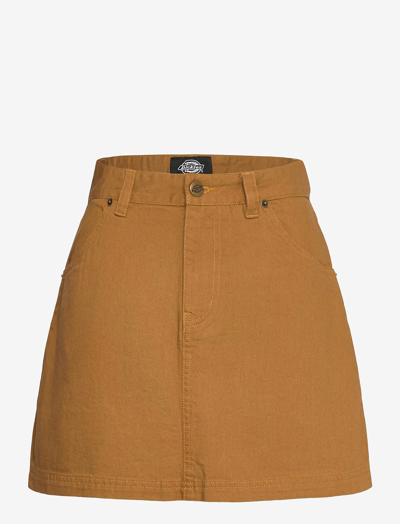 Dickies - SHONGALOO - jeanskjolar - brown duck - 0