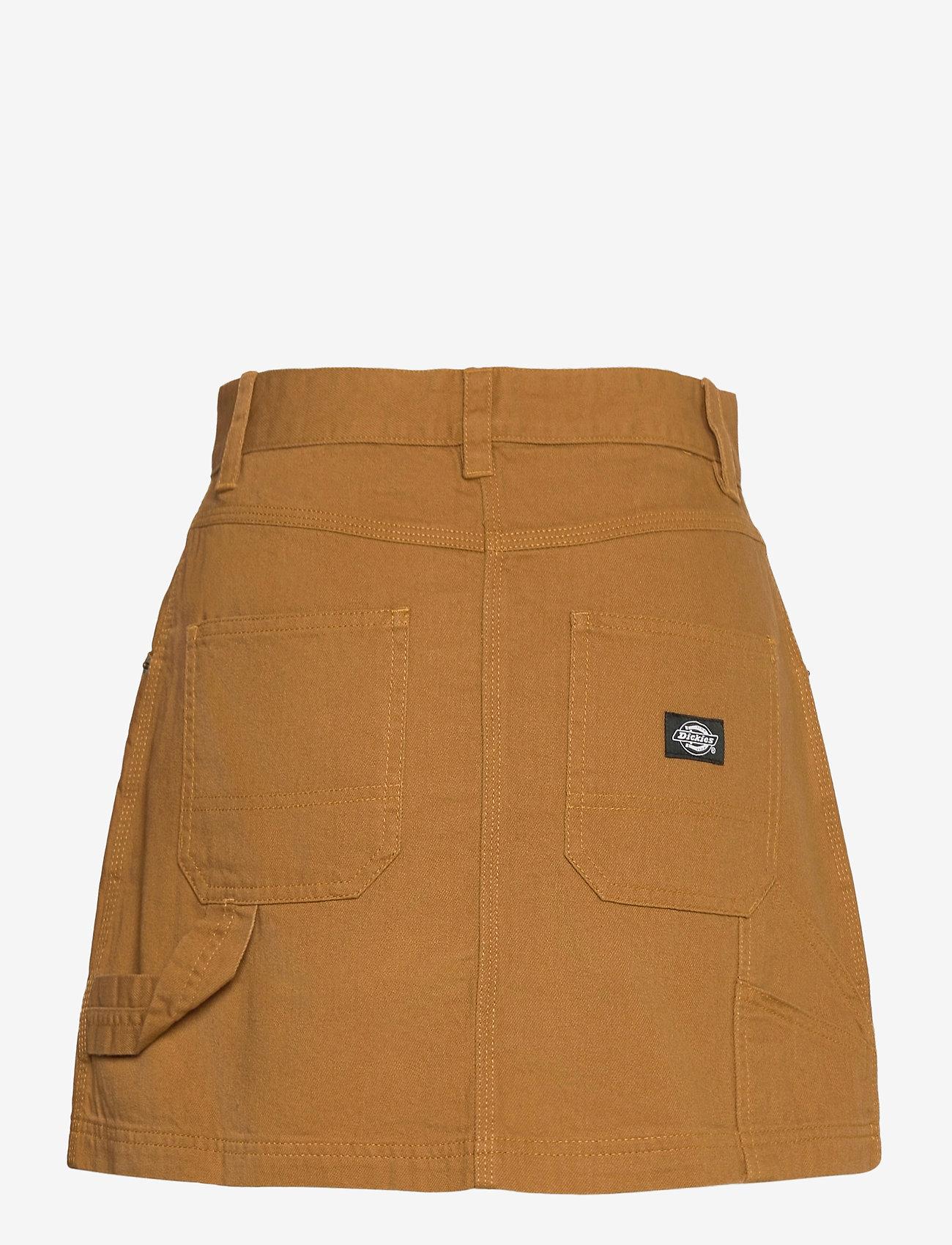Dickies - SHONGALOO - jeanskjolar - brown duck - 1