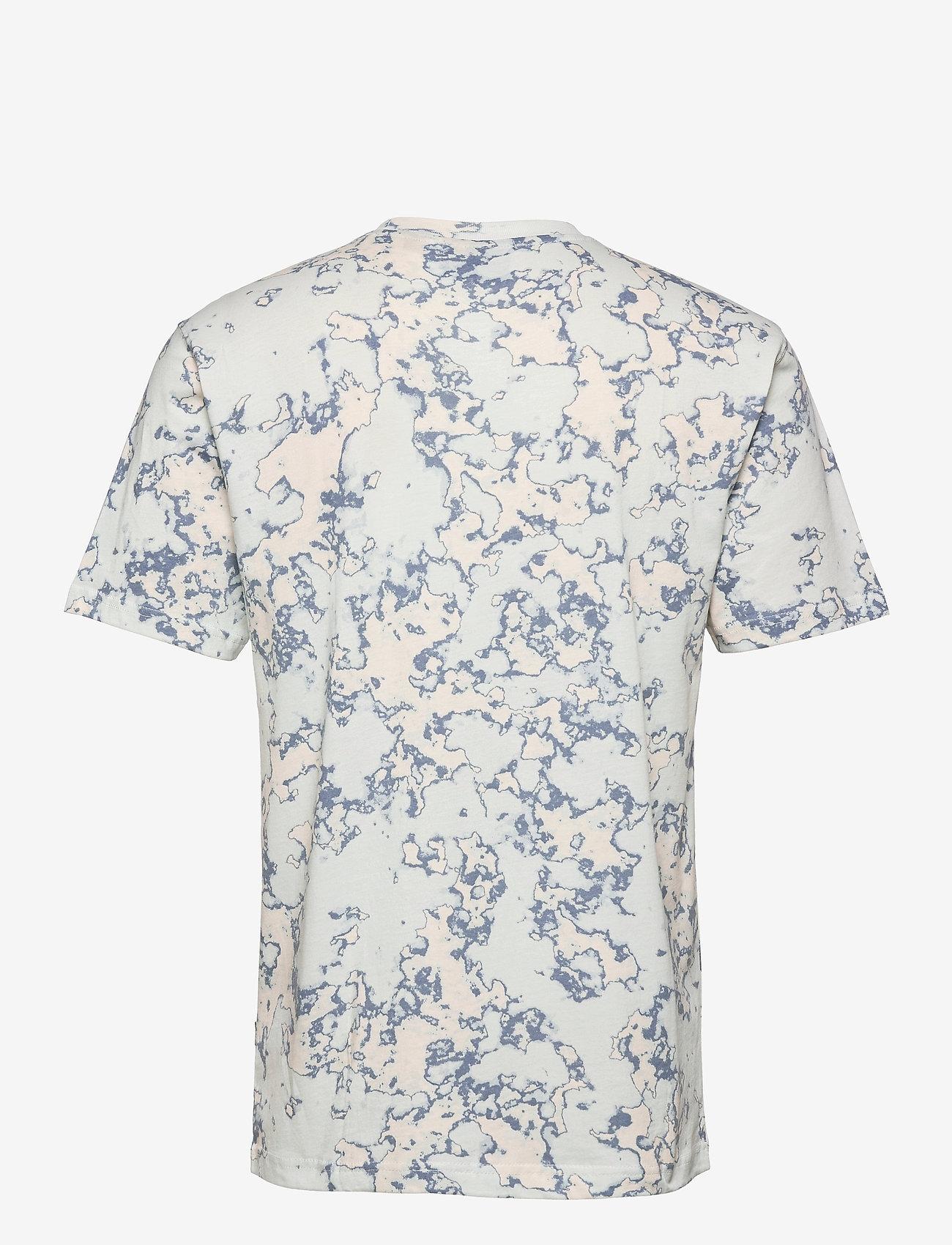 Dickies - SUNBURG TEE - t-shirts à manches courtes - fog blue - 1