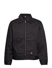 Insulated Eisenhower Jacket - BLACK