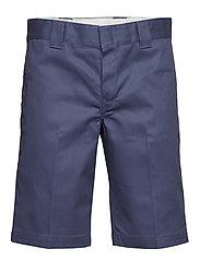 Slim Straight Work Short - NAVY BLUE