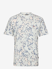 Dickies - SUNBURG TEE - t-shirts à manches courtes - fog blue - 0