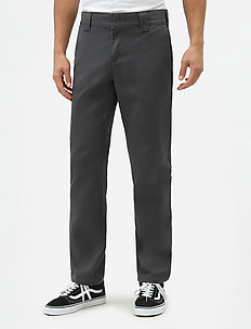 SLIM FIT WORK PANT - chinos - charcoal grey