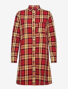 NEW IBERIA DRESS - vardagsklänningar - fiery red