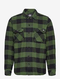 SACRAMENTO - overshirts - pine green
