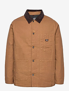 BALTIMORE JACKET - denim jackets - brown duck