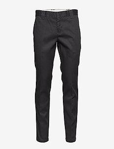 Slim Fit Work Pant - BLACK